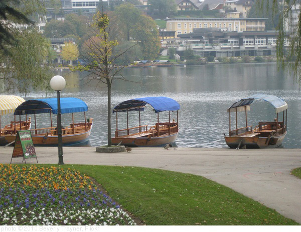 Bled, Slovenia, photo Beverly Trayner