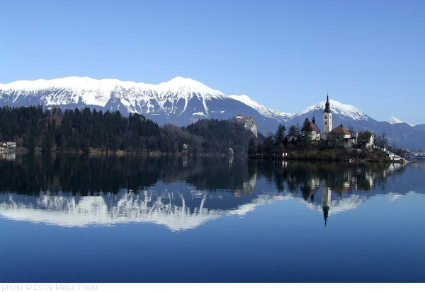 Bled lake, Slovenia, photo Mirci