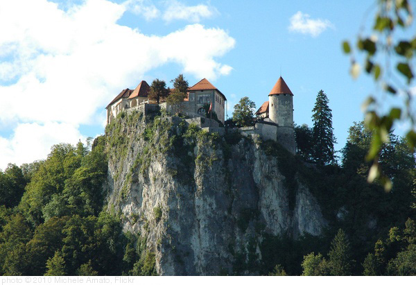 Bled's castle, photo Michele Amato